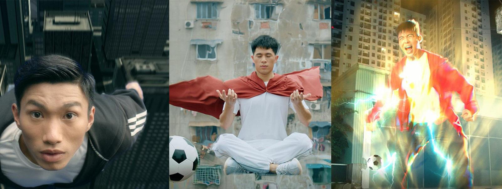 Văn Hậu, Đình Trọng, Duy Mạnh hóa siêu anh hùng trong clip mới nhất của FIFA Online 4, hoàn thiện đội hình 11 cầu thủ Việt Nam - Ảnh 2.