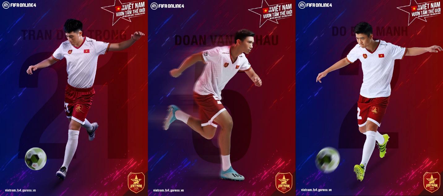 Văn Hậu, Đình Trọng, Duy Mạnh hóa siêu anh hùng trong clip mới nhất của FIFA Online 4, hoàn thiện đội hình 11 cầu thủ Việt Nam - Ảnh 3.