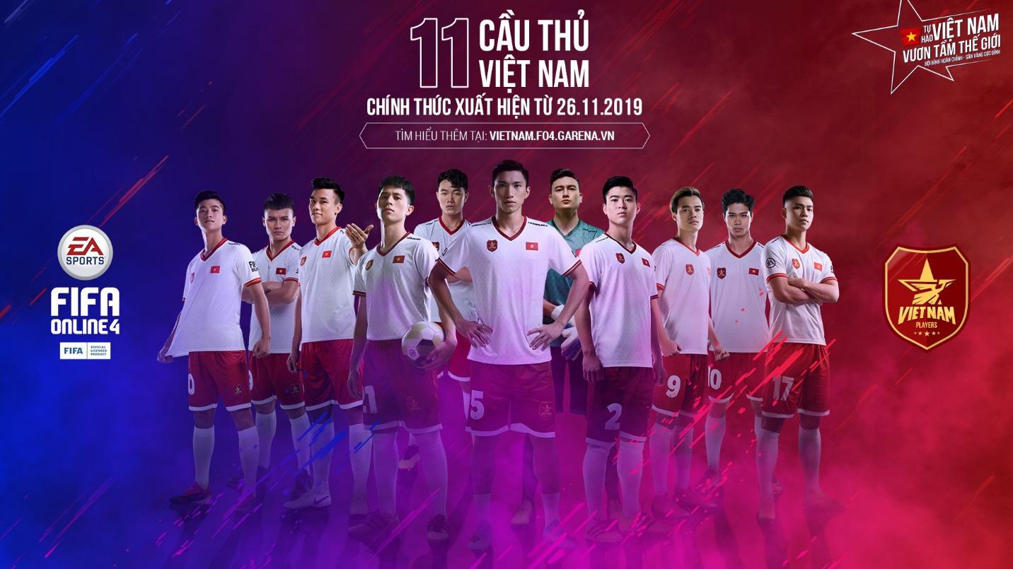 Văn Hậu, Đình Trọng, Duy Mạnh hóa siêu anh hùng trong clip mới nhất của FIFA Online 4, hoàn thiện đội hình 11 cầu thủ Việt Nam - Ảnh 4.