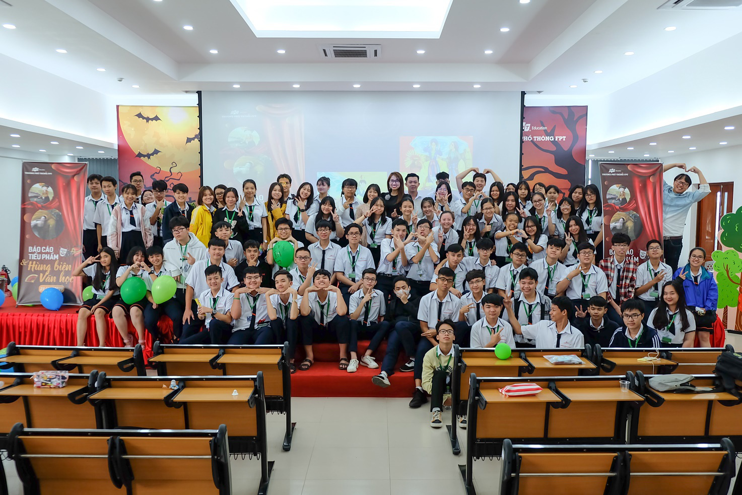 Học sinh Fschool Cần Thơ thỏa sức sáng tạo trong giờ học văn - Ảnh 1.