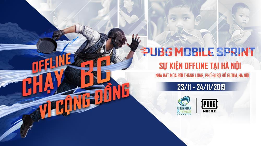 Box Gaming, Ngân Sát Thủ cùng dàn streamer hội tụ tại sự kiện gây quỹ từ thiện PUBG MOBILE SPRINT - Chạy bo vì cộng đồng - Ảnh 1.