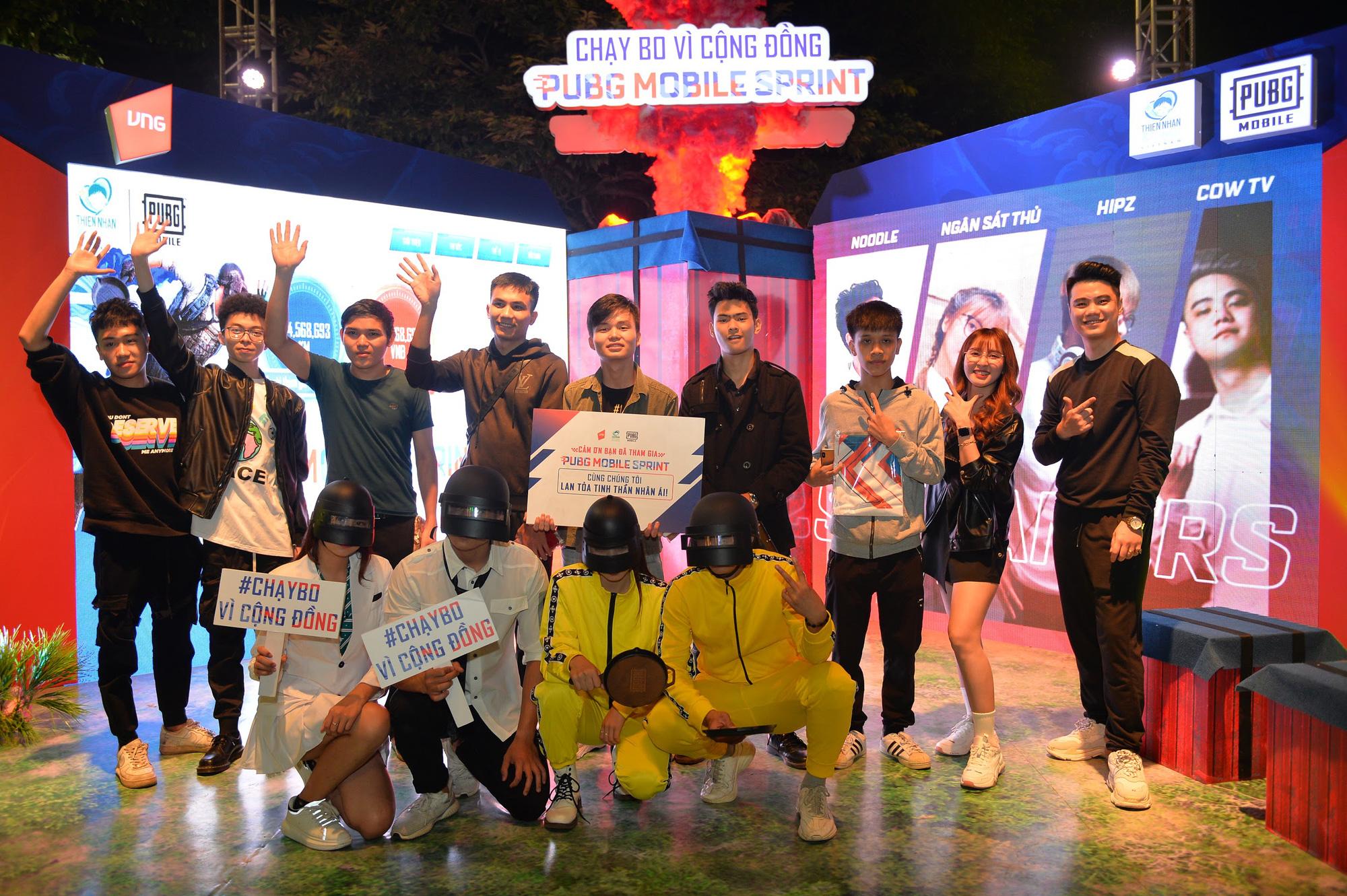 Box Gaming, Ngân Sát Thủ cùng dàn streamer hội tụ tại sự kiện gây quỹ từ thiện PUBG MOBILE SPRINT - Chạy bo vì cộng đồng - Ảnh 13.