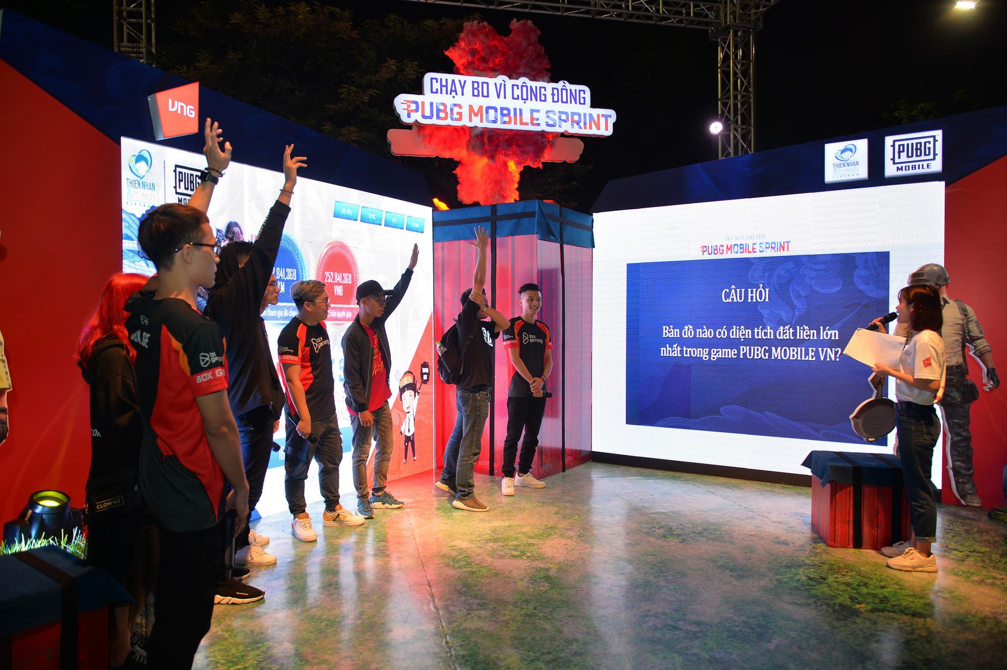 Box Gaming, Ngân Sát Thủ cùng dàn streamer hội tụ tại sự kiện gây quỹ từ thiện PUBG MOBILE SPRINT - Chạy bo vì cộng đồng - Ảnh 10.