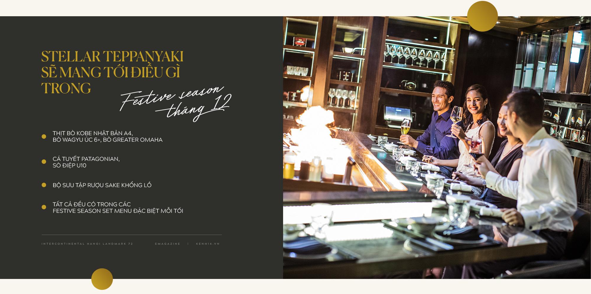 """""""Bữa tiệc trên mây"""" mùa lễ hội: Nâng tầm trải nghiệm ẩm thực với mọi giác quan tại InterContinental Hanoi Landmark72 - Ảnh 14."""