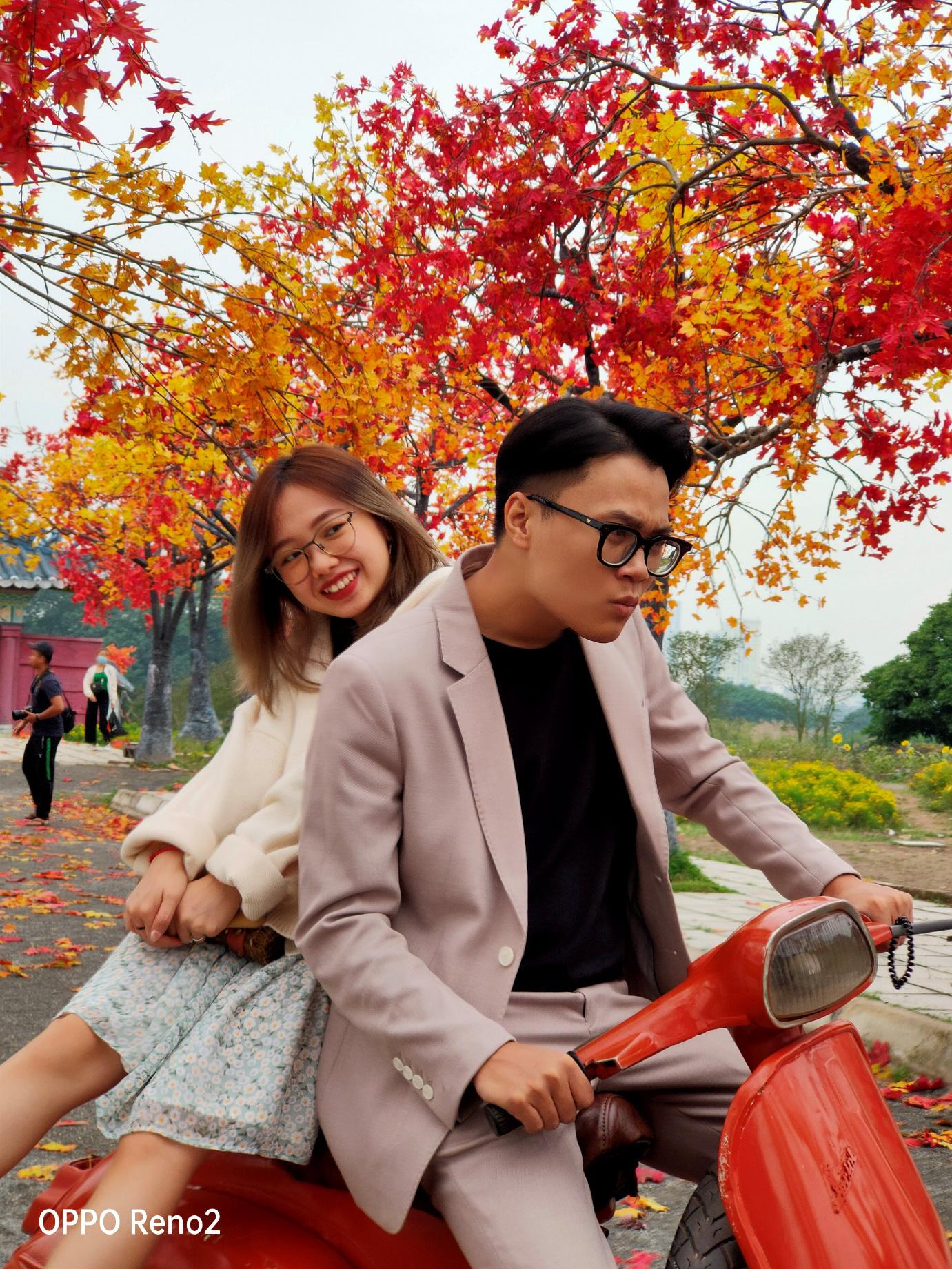 Đi Nhật, Hàn làm gì cho xa khi ở Hà Nội cũng có cảnh lá vàng đẹp đến nao lòng - Ảnh 3.