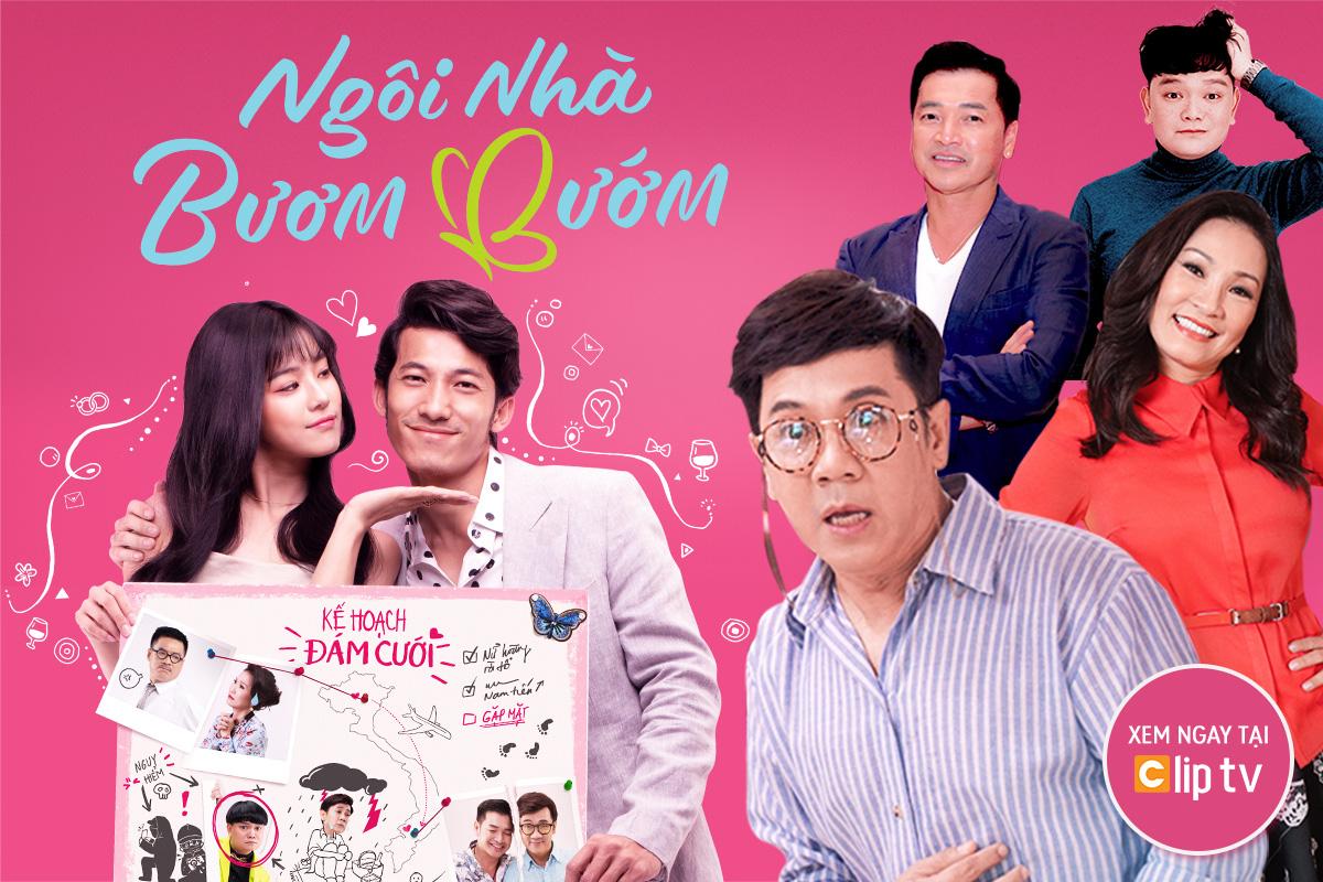 """Bộ phim Việt hài hước """"Ngôi nhà bươm bướm"""" được phát hành online - Ảnh 1."""