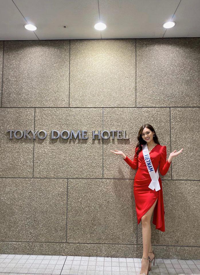 Ngắm hình thể quyến rũ của Á hậu Tường San tại cuộc thi Hoa hậu Quốc tế 2019 - Ảnh 5.