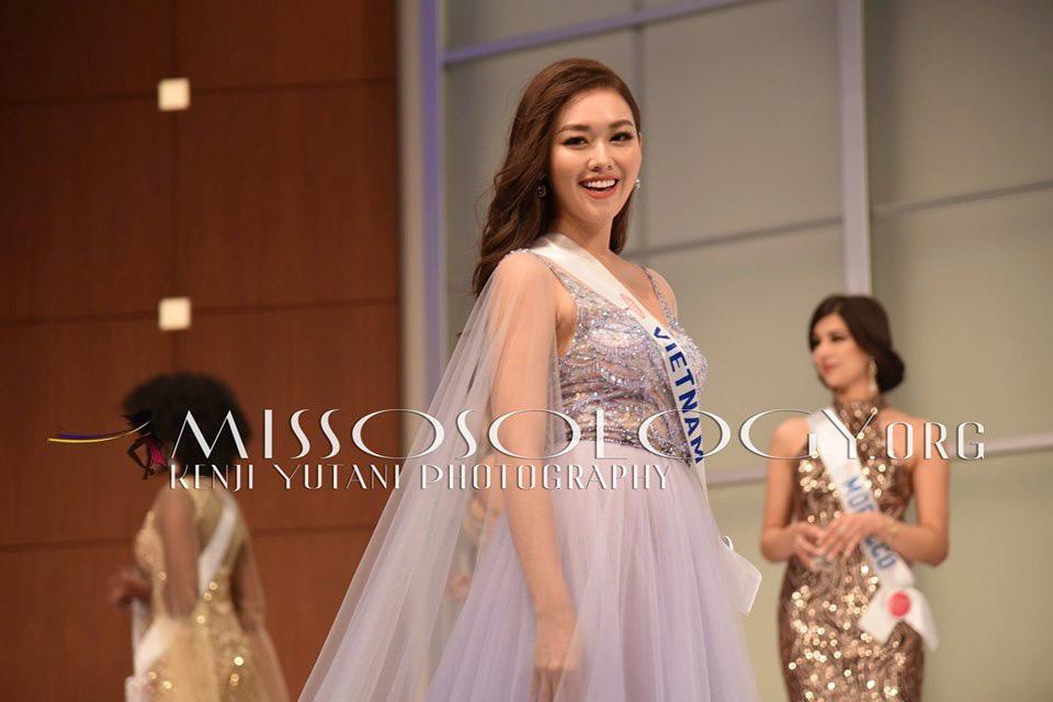 Ngắm hình thể quyến rũ của Á hậu Tường San tại cuộc thi Hoa hậu Quốc tế 2019 - Ảnh 7.
