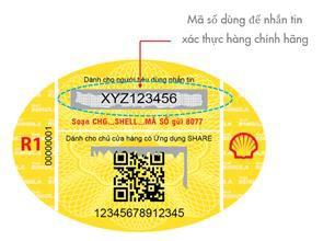 """Người dùng dầu nhớt đã có thể yên tâm hơn với tem chống hàng giả tích hợp """"2 trong 1"""" - Ảnh 1."""