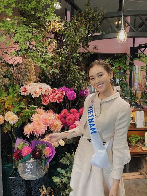Ngắm hình thể quyến rũ của Á hậu Tường San tại cuộc thi Hoa hậu Quốc tế 2019 - Ảnh 4.