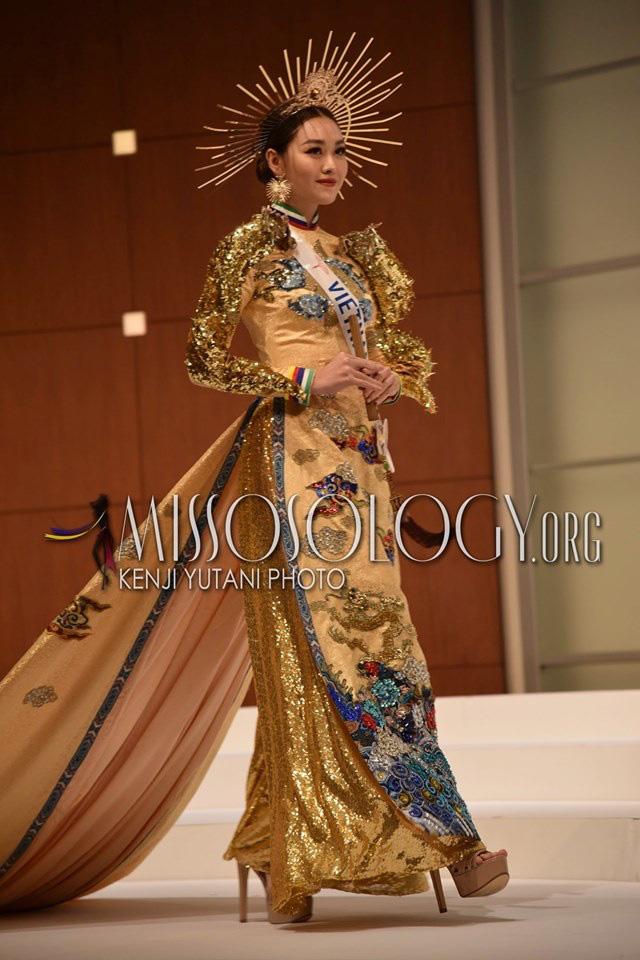 Ngắm hình thể quyến rũ của Á hậu Tường San tại cuộc thi Hoa hậu Quốc tế 2019 - Ảnh 8.