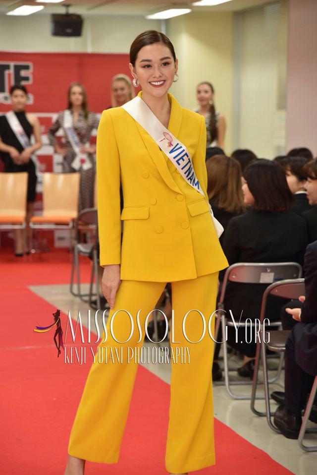 Ngắm hình thể quyến rũ của Á hậu Tường San tại cuộc thi Hoa hậu Quốc tế 2019 - Ảnh 10.