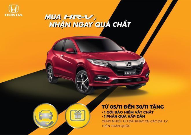 """""""Mua HR-V, nhận ngay quà chất"""" – Khuyến mãi hấp dẫn từ Honda Việt Nam - Ảnh 1."""