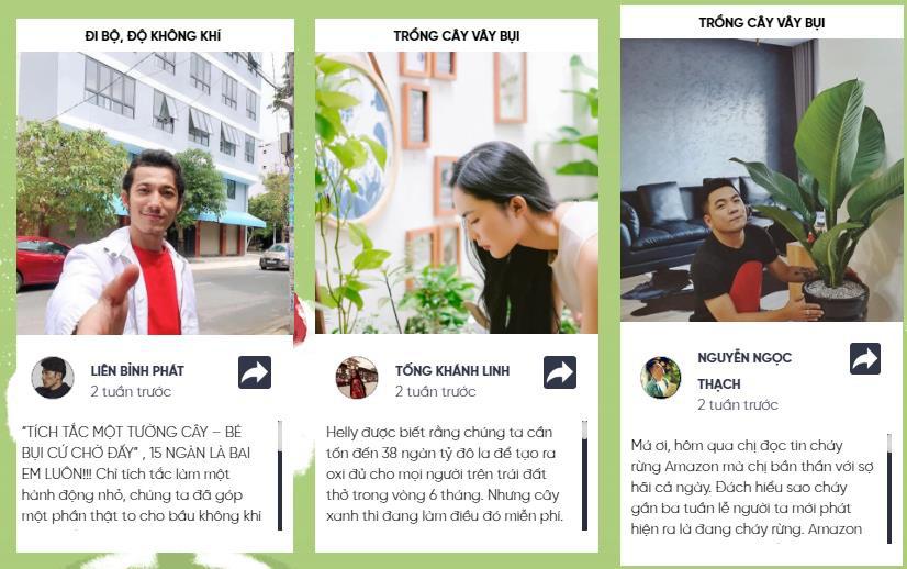 Tiếp nối thành công thử thách detox siêu bụi mịn, những bức tường cây đầu tiên dần hình thành tại 3 trường đại học của Việt Nam - Ảnh 2.