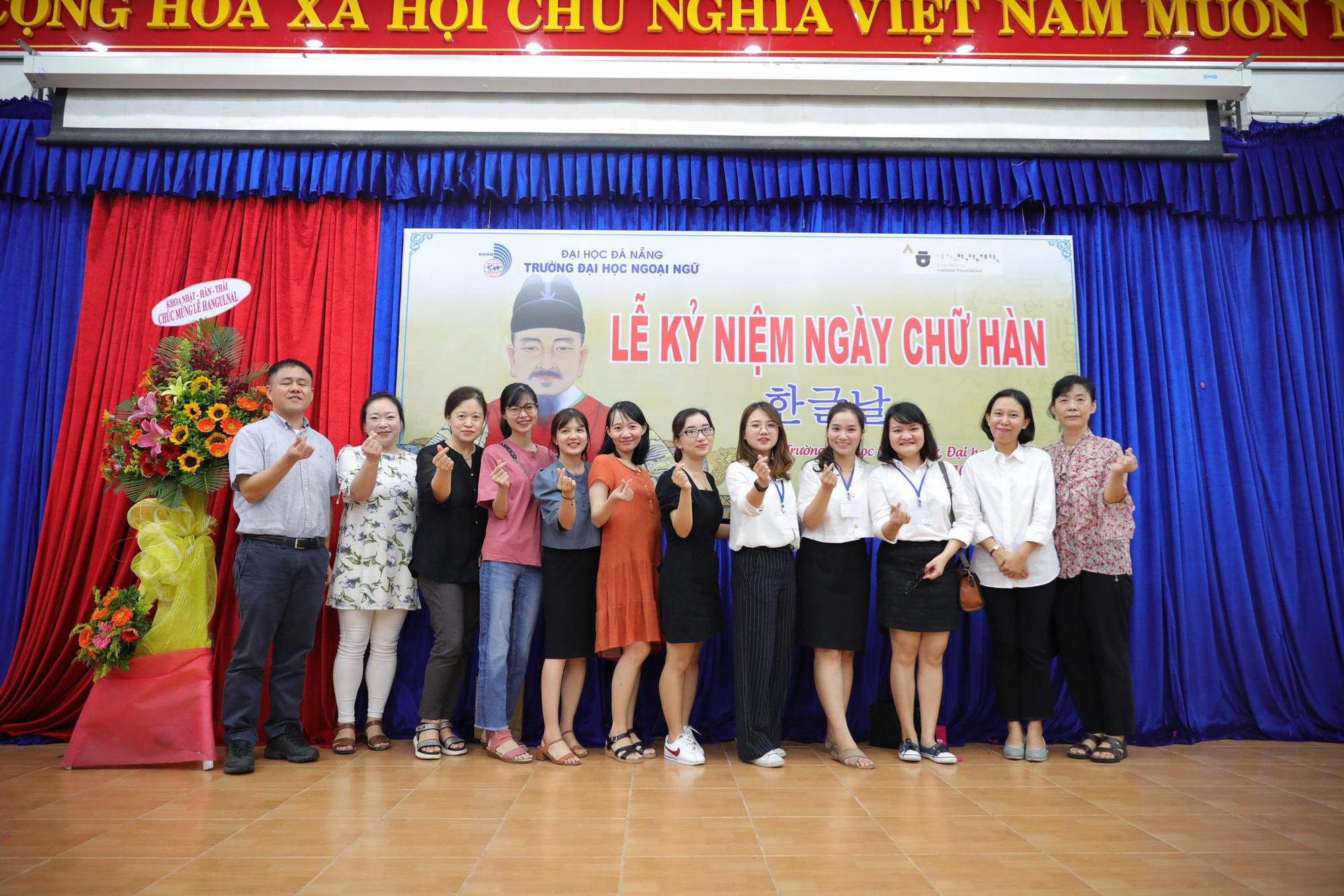 Sôi nổi nhiều hoạt động kỷ niệm ngày chữ Hàn Hangeulnal 2019 tại dự án Sejong Đà Nẵng - Ảnh 3.