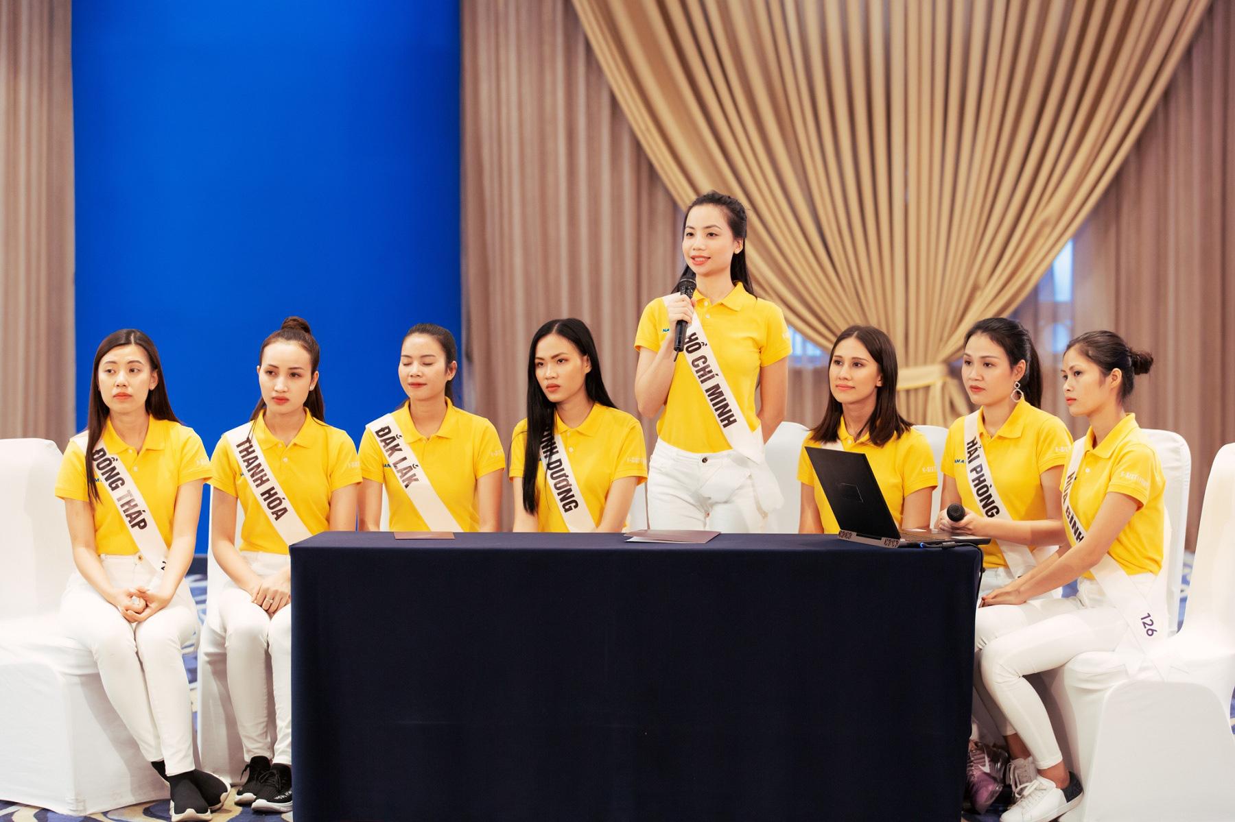Nam Á Bank tư vấn kỹ năng xây dựng doanh nghiệp xã hội cho top 60 Hoa hậu Hoàn vũ Việt Nam 2019 - Ảnh 2.