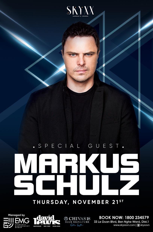 Huyền thoại Markus Schulz sẽ biểu diễn tại Sài Gòn vào 21/11 - Ảnh 1.