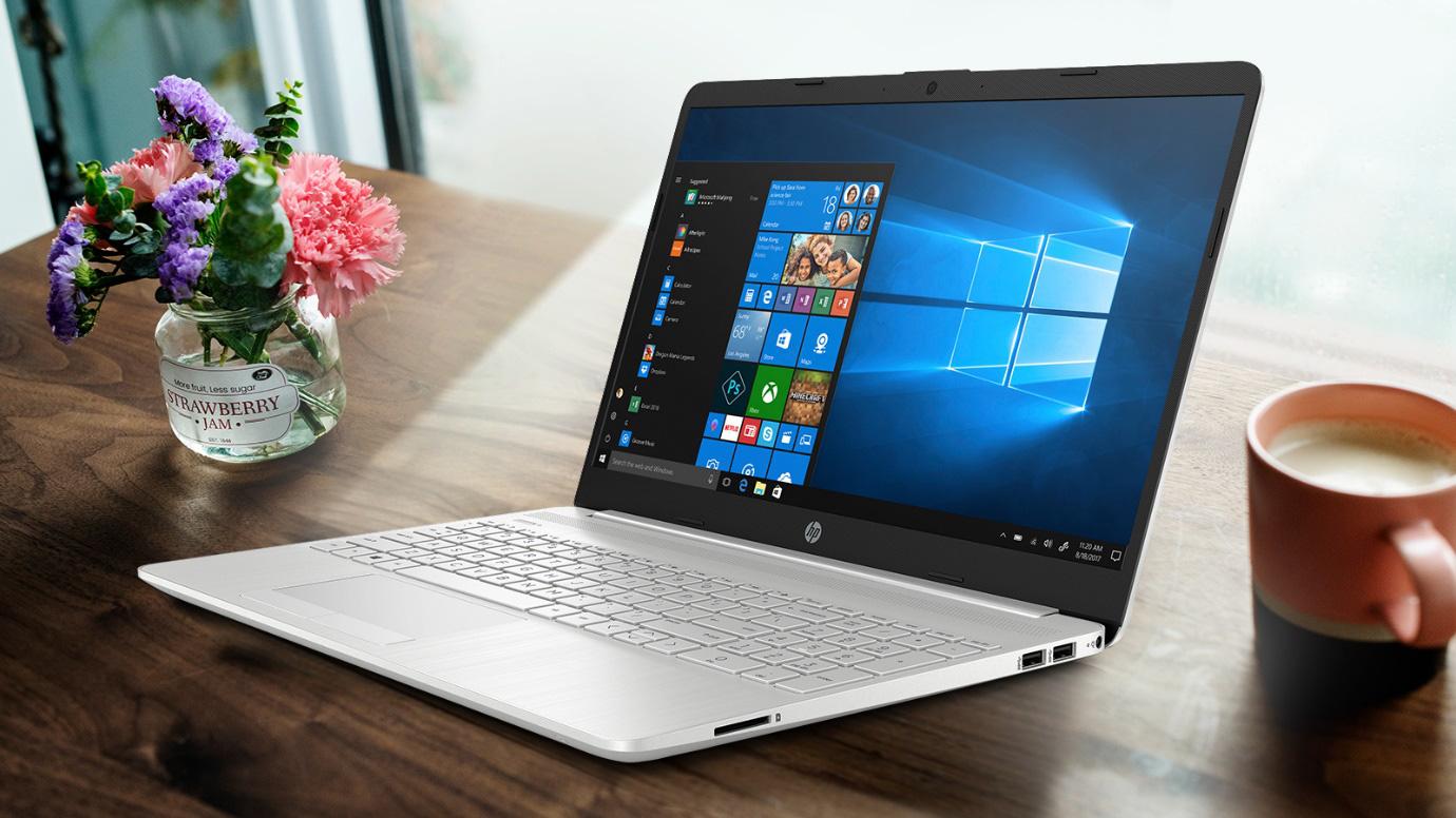 """HP 15s-du0068TX - Chiếc laptop mỏng nhẹ, cấu hình mạnh mẽ với mức giá siêu """"hời'' dành cho các bạn học sinh, sinh viên - Ảnh 1."""