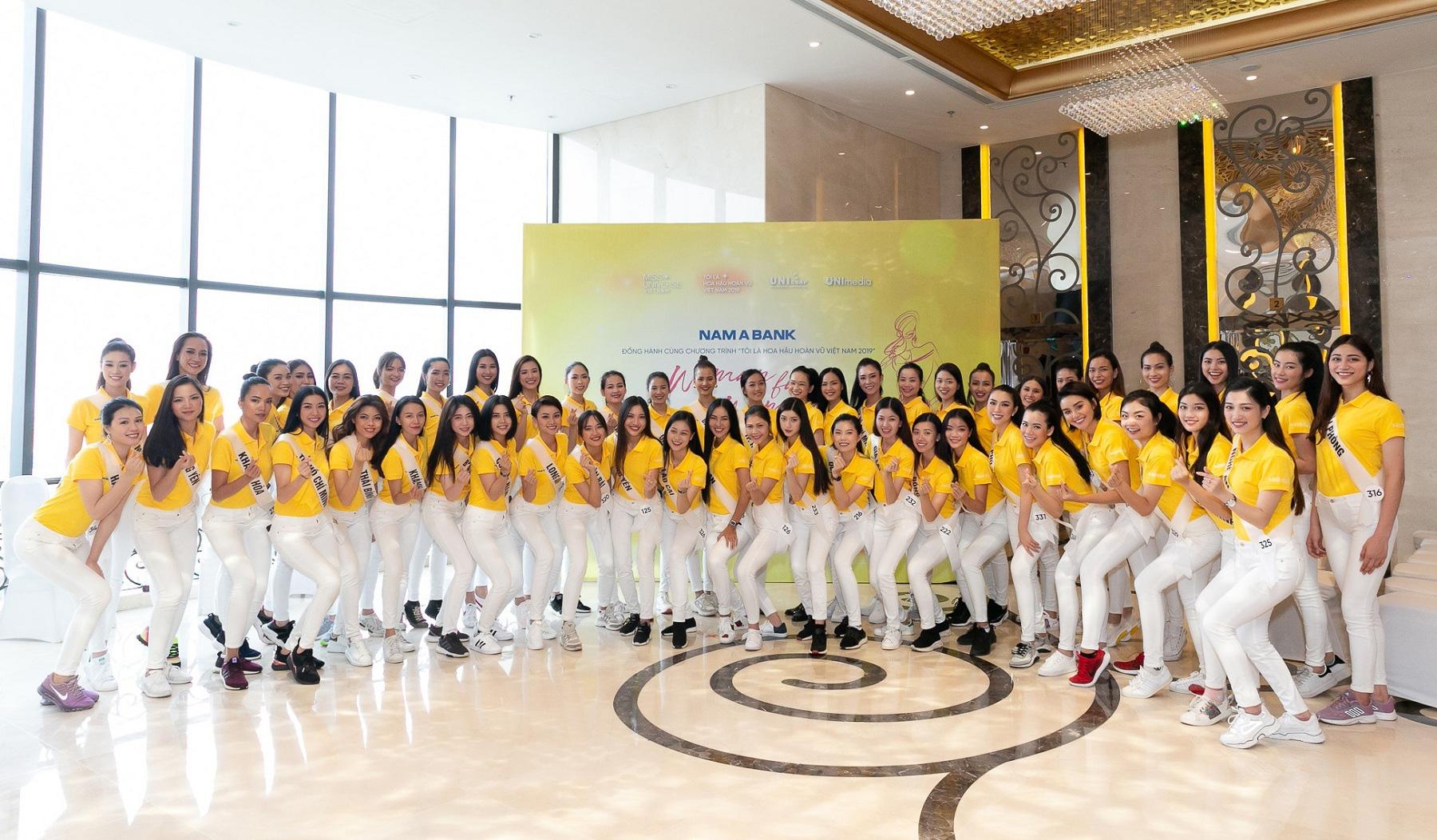 Nam Á Bank tư vấn kỹ năng xây dựng doanh nghiệp xã hội cho top 60 Hoa hậu Hoàn vũ Việt Nam 2019 - Ảnh 4.