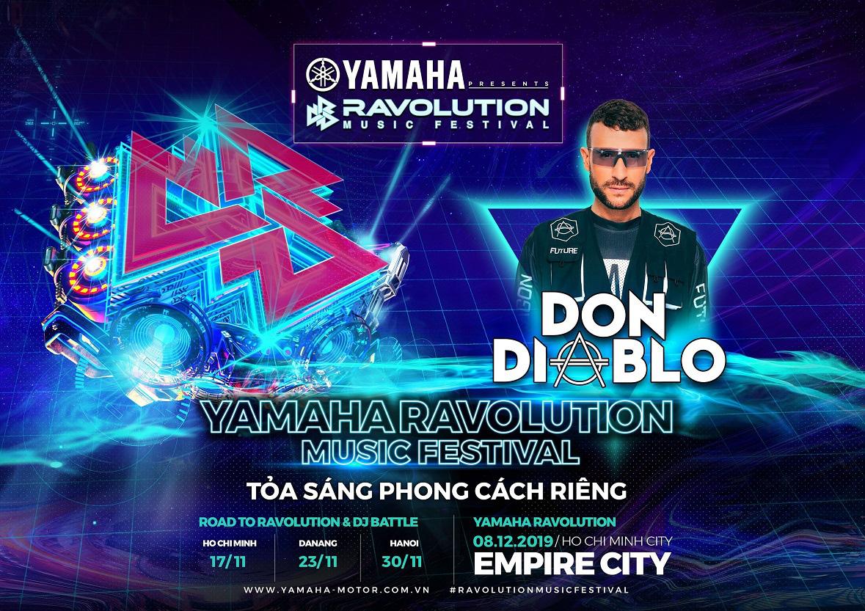 """Siêu đại nhạc hội EDM Yamaha Ravolution trở lại – Raver dậy sóng với dàn line-up """"cực khủng"""" - Ảnh 2."""