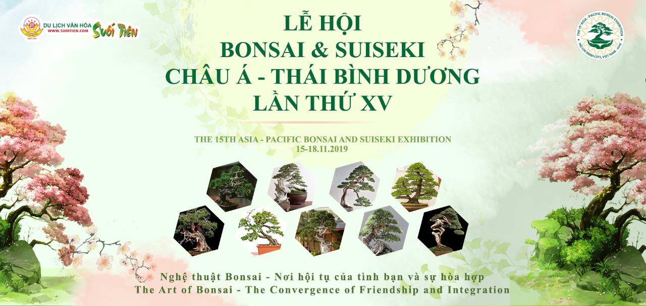 Khám phá lễ hội Bonsai & Suiseki Châu Á - Thái Bình Dương tại Suối Tiên - Ảnh 1.