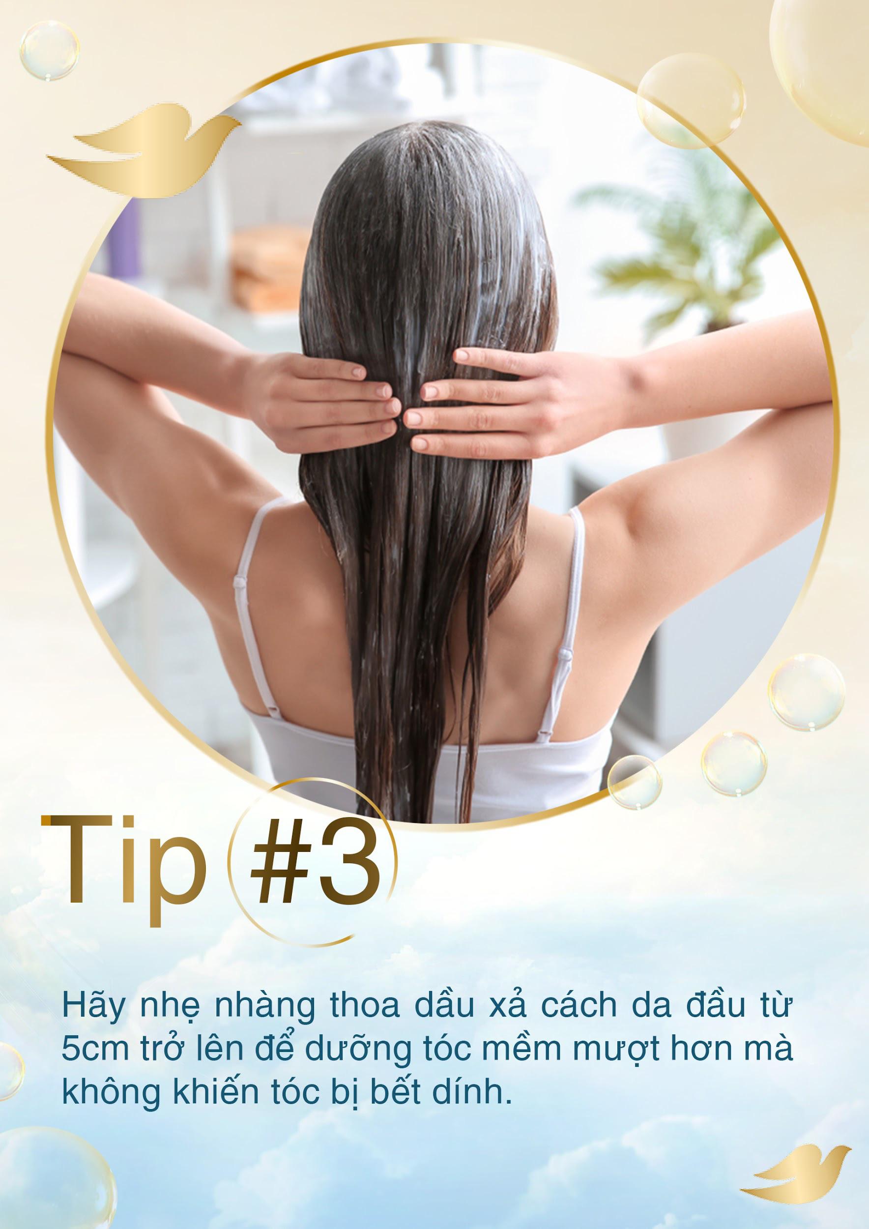 5 tuyệt chiêu khi gội đầu cho tóc thỏa sức bồng bềnh suốt mùa lễ hội - Ảnh 2.