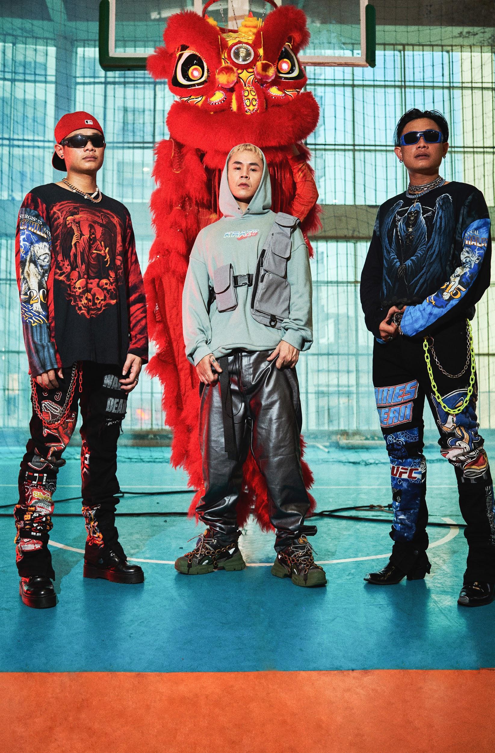 """Binz """"chơi lớn"""" cuối năm, ra mắt BST thời trang underground """"chất chơi"""" dành cho giới trẻ - Ảnh 5."""