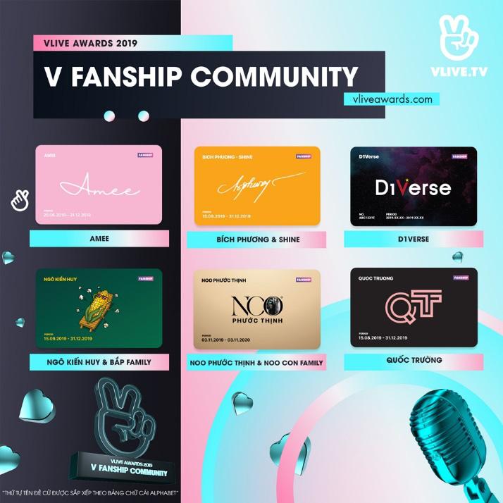 Cổng bình chọn Vlive Awards 2019 đã mở, fandom được đề cử tại một Lễ trao giải danh giá cuối năm - Ảnh 5.