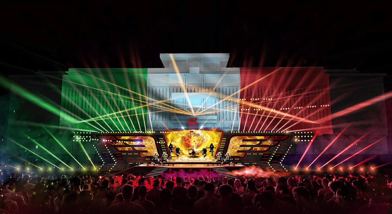 Một ngày du ngoạn Italia đầy màu sắc, tận hưởng đại tiệc âm thanh và ánh sáng Sống Như Ý - Ảnh 2.