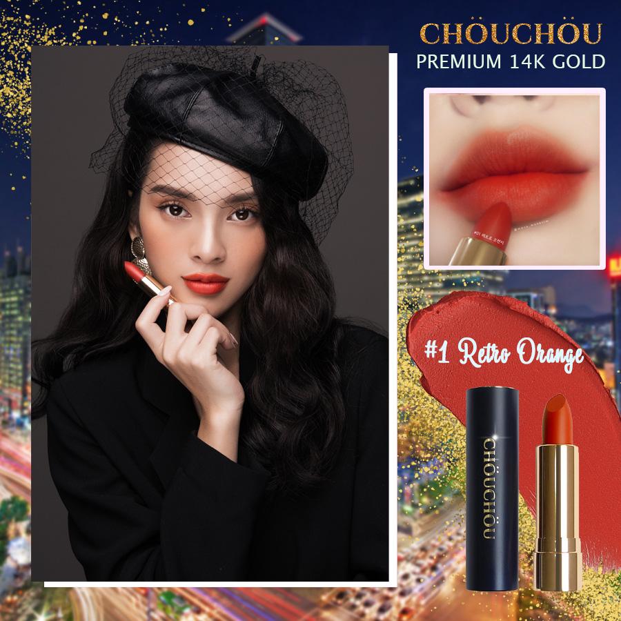 ChouChou ra mắt dòng son mạ vàng Premium Matte 14k Gold Edition chinh phục các beauty blogger khó tính - Ảnh 5.