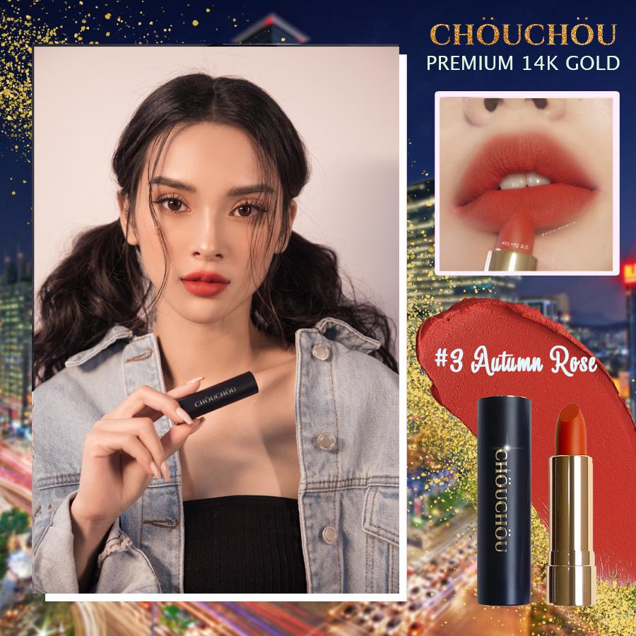 ChouChou ra mắt dòng son mạ vàng Premium Matte 14k Gold Edition chinh phục các beauty blogger khó tính - Ảnh 7.