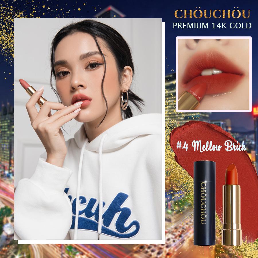 ChouChou ra mắt dòng son mạ vàng Premium Matte 14k Gold Edition chinh phục các beauty blogger khó tính - Ảnh 8.