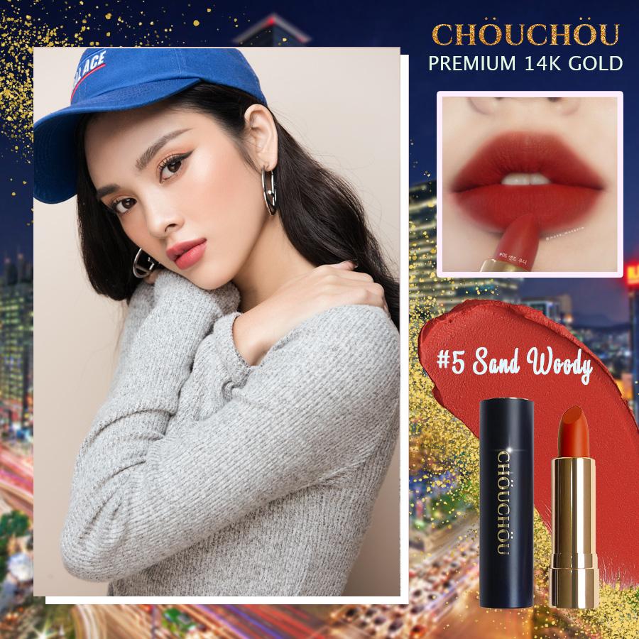 ChouChou ra mắt dòng son mạ vàng Premium Matte 14k Gold Edition chinh phục các beauty blogger khó tính - Ảnh 9.