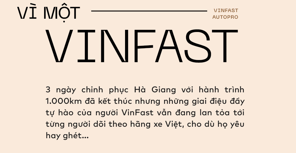 Vì một VinFast! - Ảnh 1.