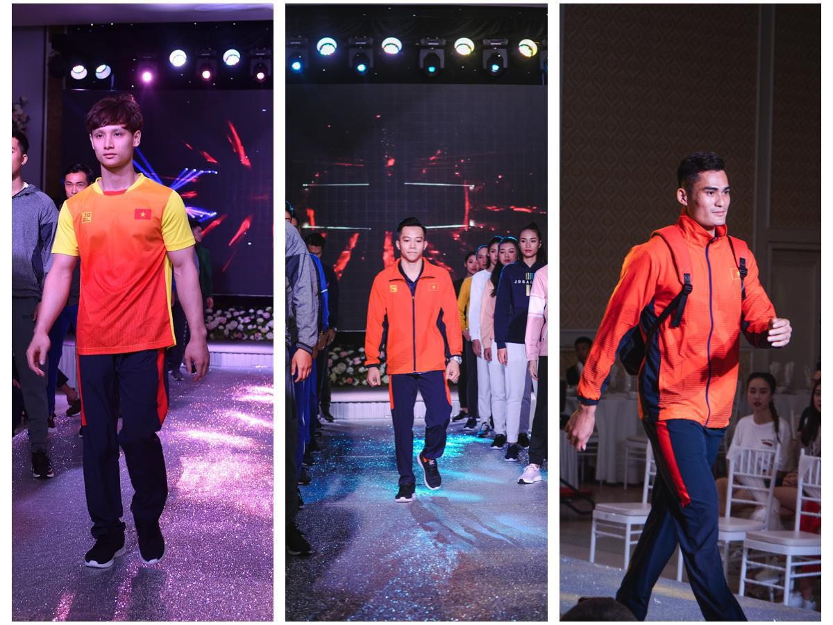 Bạn gái Văn Hậu xinh đẹp tại Fashion Show ra mắt trang phục Sea Games 30 - Ảnh 2.