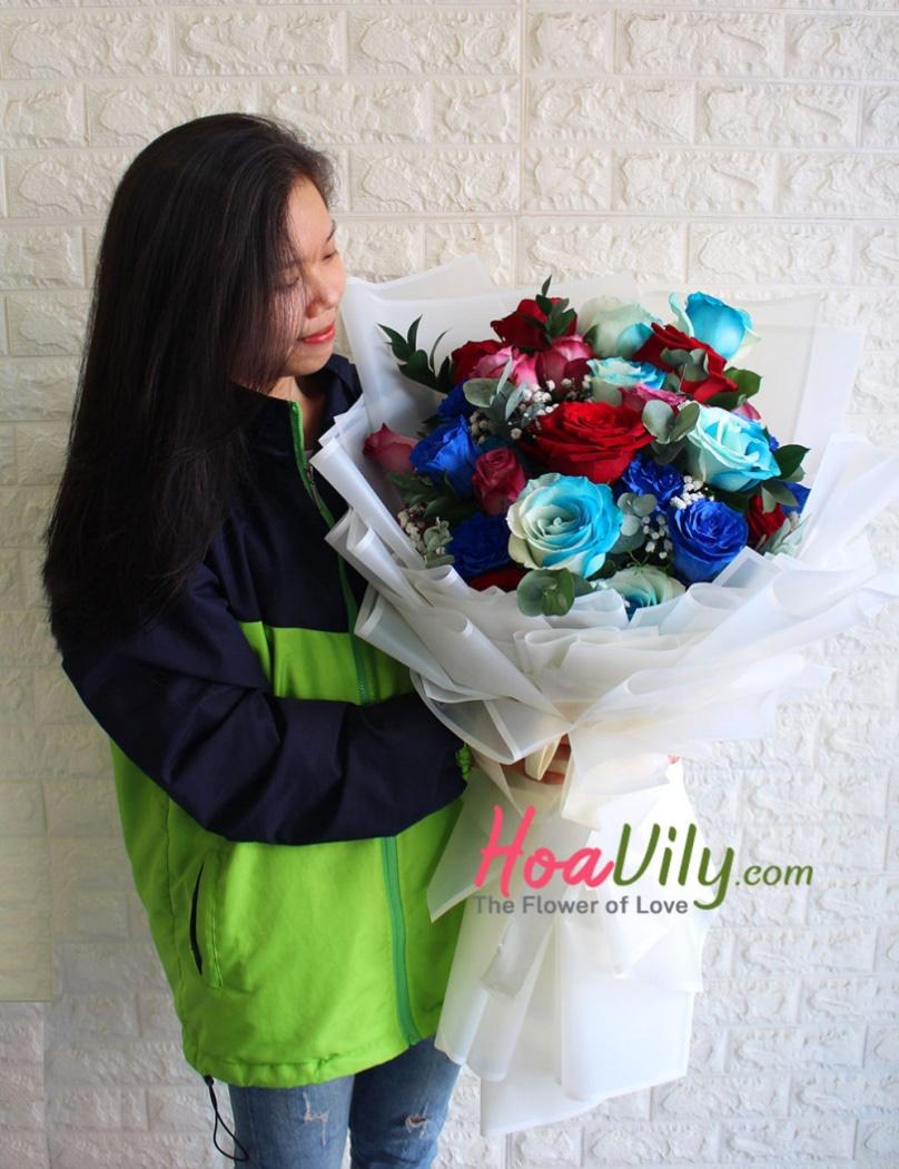 Khiến nàng ngất ngây với 5 mẫu hoa sinh nhật độc lạ của Hoavily - Ảnh 2.