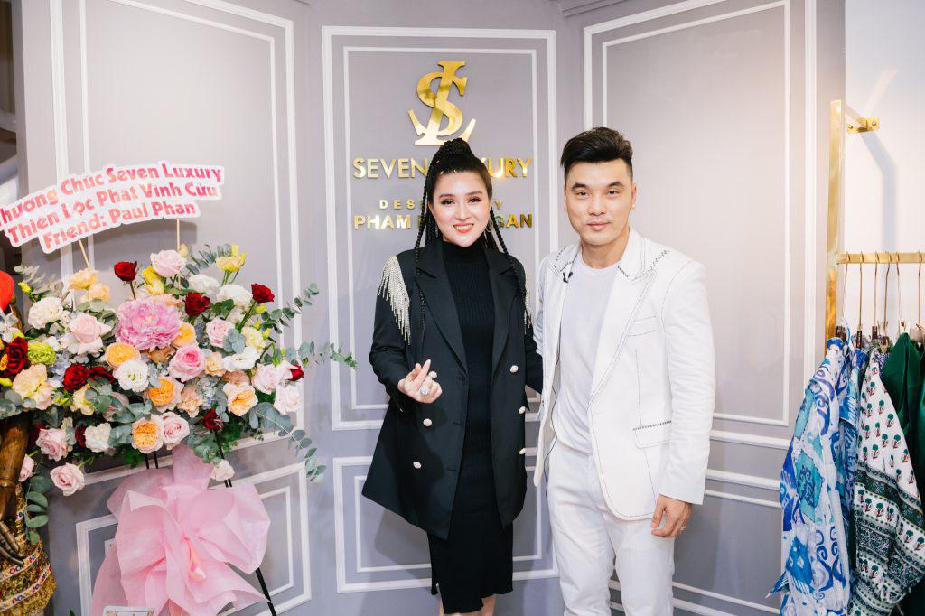 Ca sĩ Ưng Hoàng Phúc khuấy động lễ khai trương thương hiệu Seven Luxury - Ảnh 3.