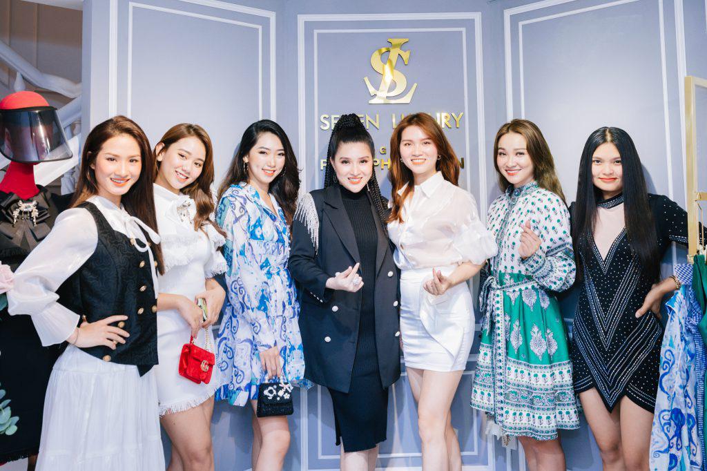 Ca sĩ Ưng Hoàng Phúc khuấy động lễ khai trương thương hiệu Seven Luxury - Ảnh 4.