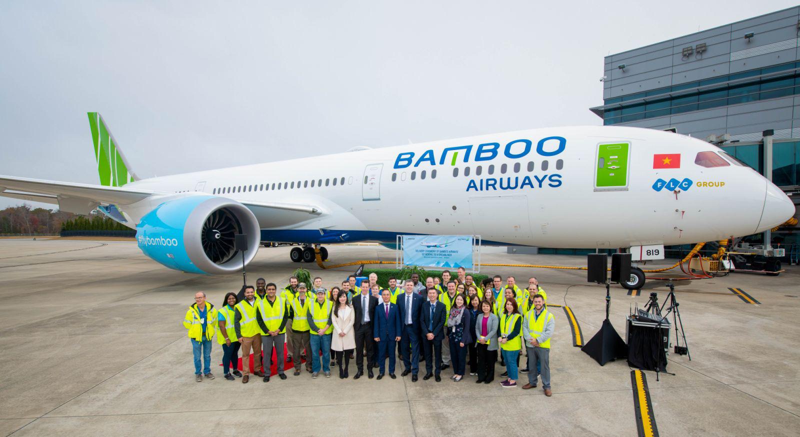 Bamboo Airways bất ngờ hé lộ tên riêng đặt cho máy bay Boeing 787-9 Dreamliner đầu tiên của hãng - Ảnh 1.