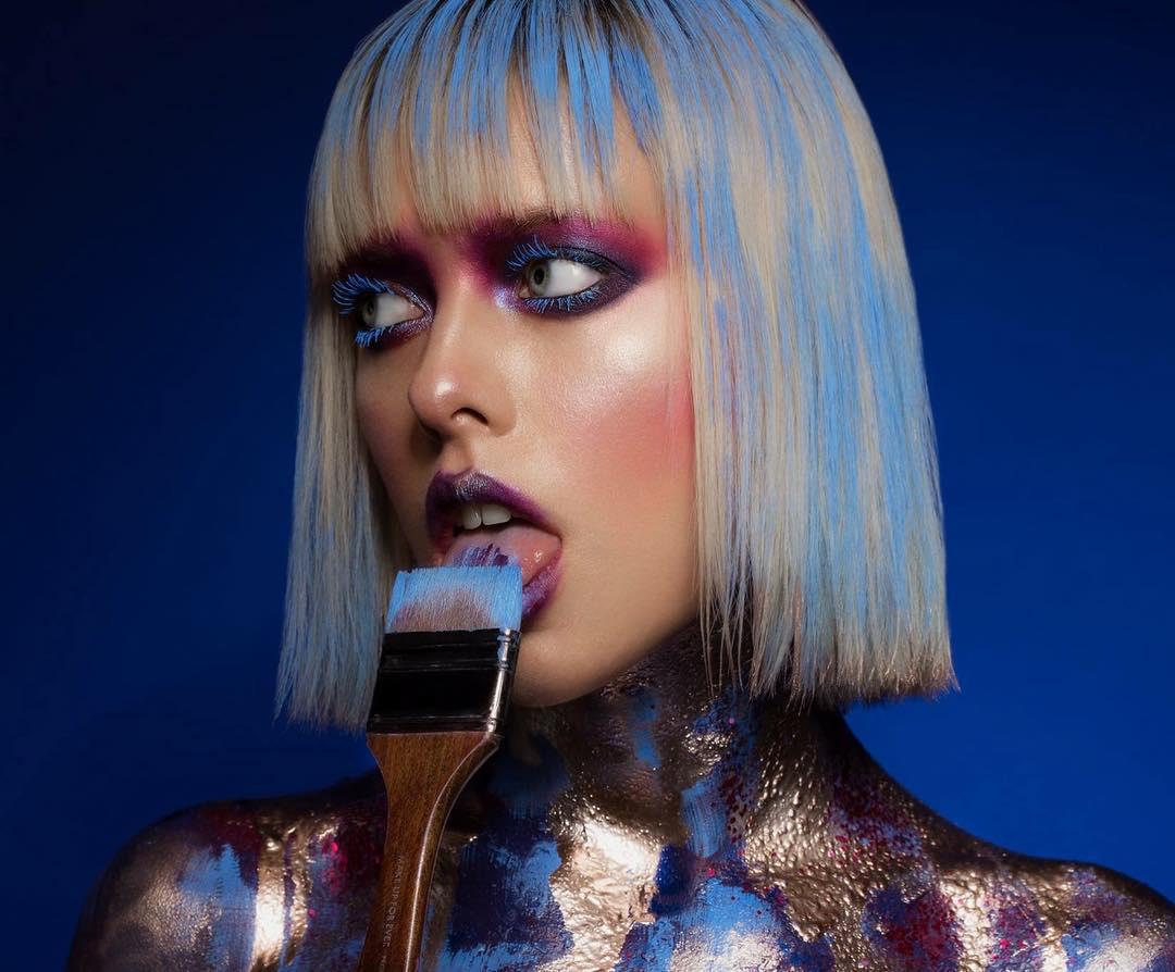 Dàn M.U.A nổi tiếng quy tụ tại The makeup show của Hạnh Lâm Makeup Academy - Ảnh 2.