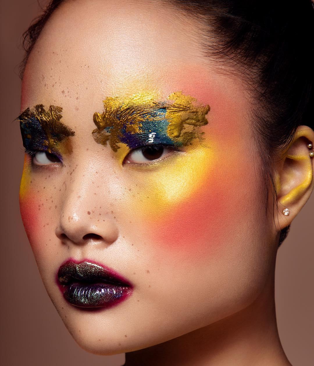 Dàn M.U.A nổi tiếng quy tụ tại The makeup show của Hạnh Lâm Makeup Academy - Ảnh 3.