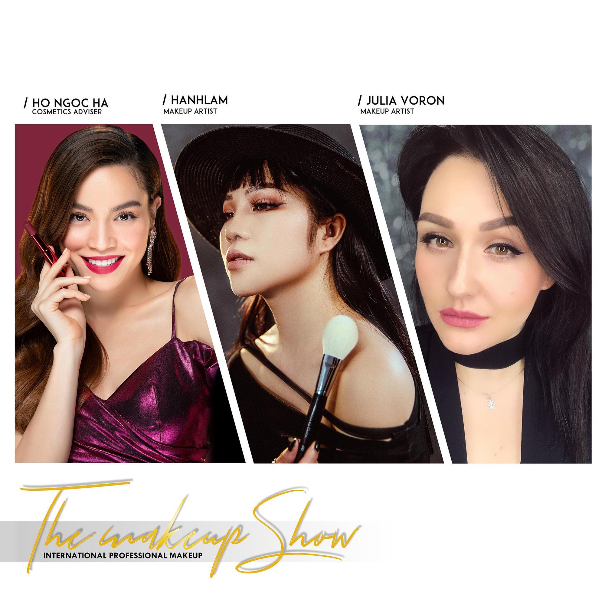 Dàn M.U.A nổi tiếng quy tụ tại The makeup show của Hạnh Lâm Makeup Academy - Ảnh 5.