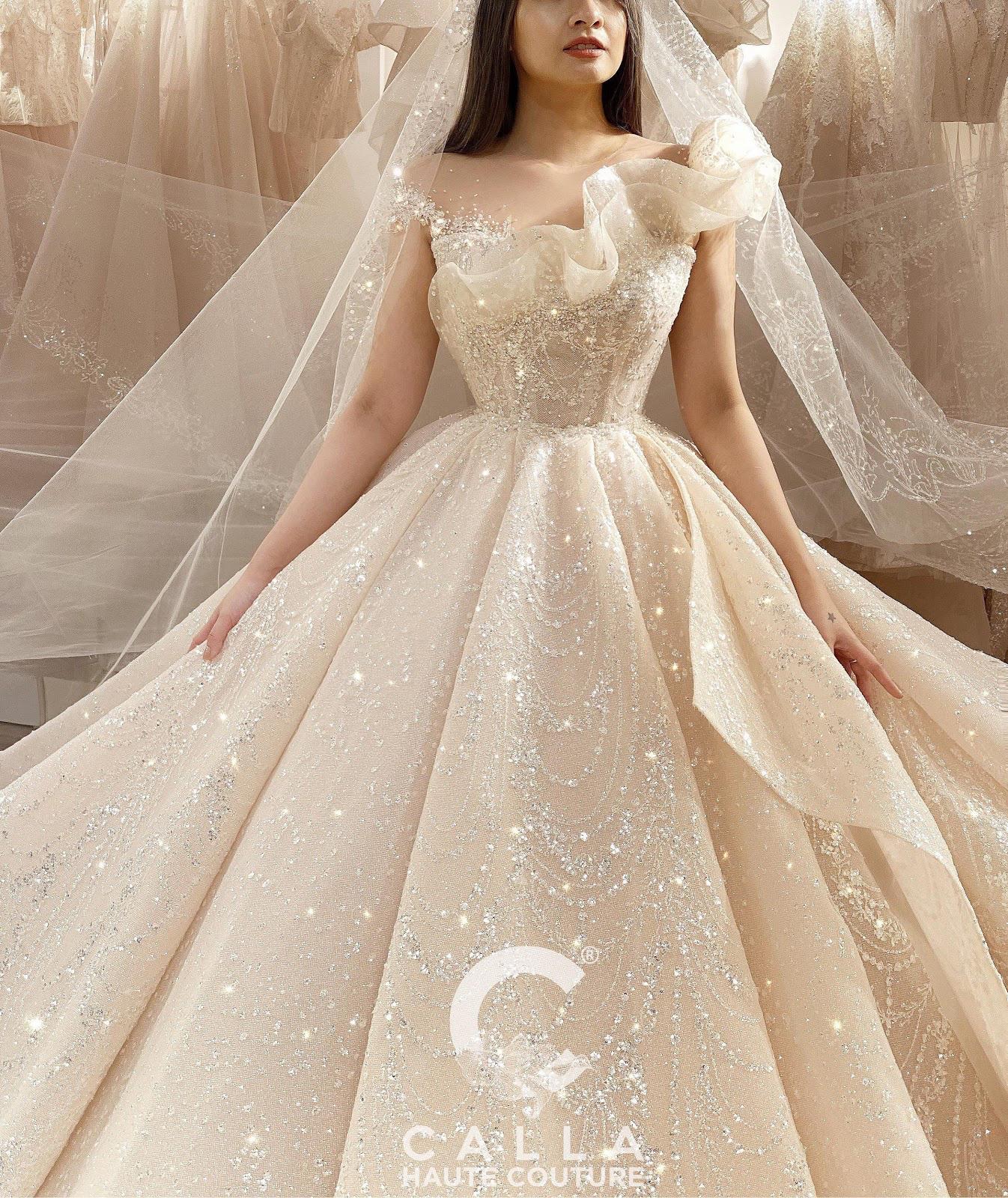 """Calla Haute Couture For Linh Chi - Điều kỳ diệu mang tên """"nàng thơ xứ Huế"""" - Ảnh 7."""