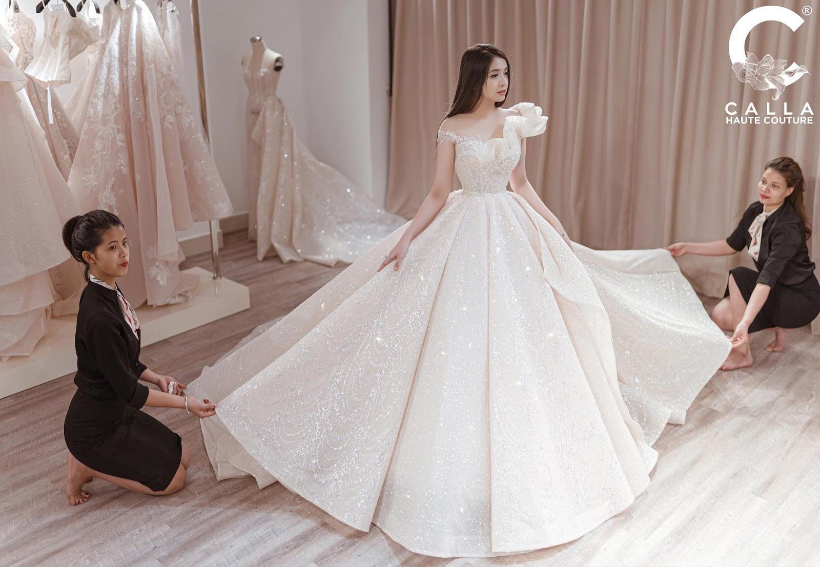 """Calla Haute Couture For Linh Chi - Điều kỳ diệu mang tên """"nàng thơ xứ Huế"""" - Ảnh 8."""