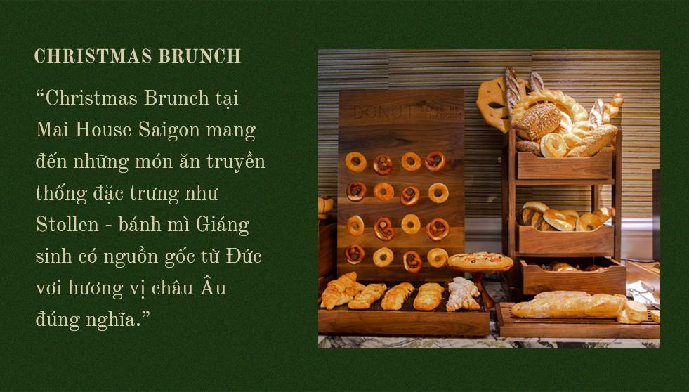FESTIVE SEASON - Tận hưởng không gian Giáng sinh ấm cúng và an lành cùng Mai House Saigon - Ảnh 8.