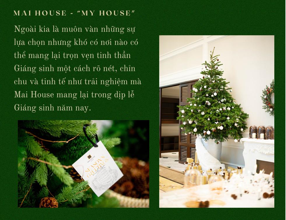 FESTIVE SEASON - Tận hưởng không gian Giáng sinh ấm cúng và an lành cùng Mai House Saigon - Ảnh 18.