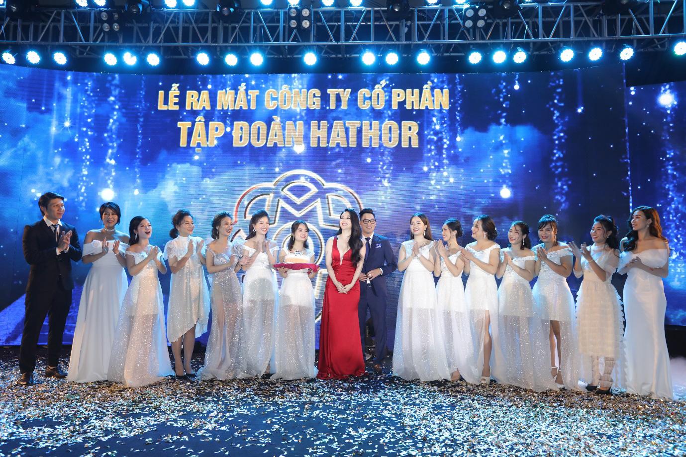Lễ ra mắt Công ty Cổ phần Tập đoàn Hathor quy tụ nhiều ngôi sao nổi tiếng - Ảnh 1.