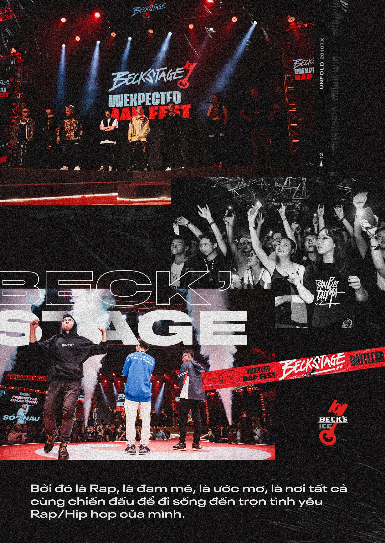 Ngôi vô địch BeckStage Battle Rap đã có chủ: Sóc Nâu và Phúc Du giành lấy ngôi vương đầy thuyết phục, một tương lai đầy hy vọng của rap Việt! - Ảnh 13.