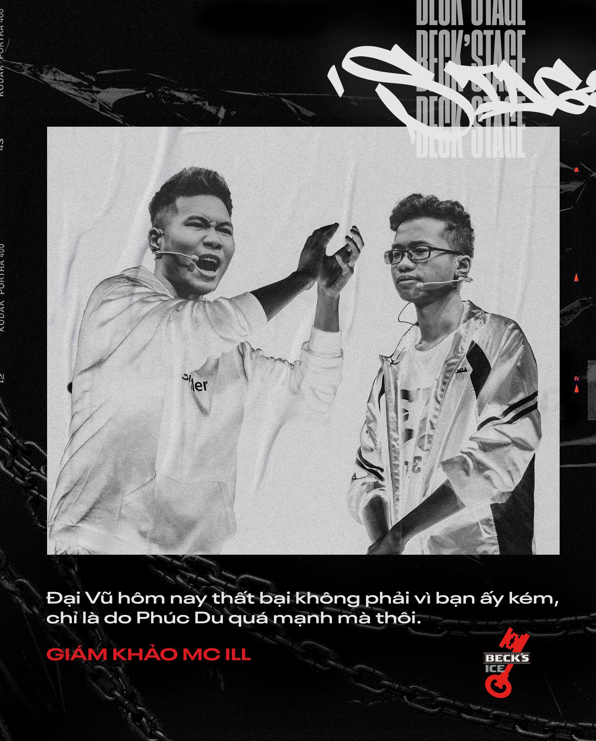 Ngôi vô địch BeckStage Battle Rap đã có chủ: Sóc Nâu và Phúc Du giành lấy ngôi vương đầy thuyết phục, một tương lai đầy hy vọng của rap Việt! - Ảnh 12.