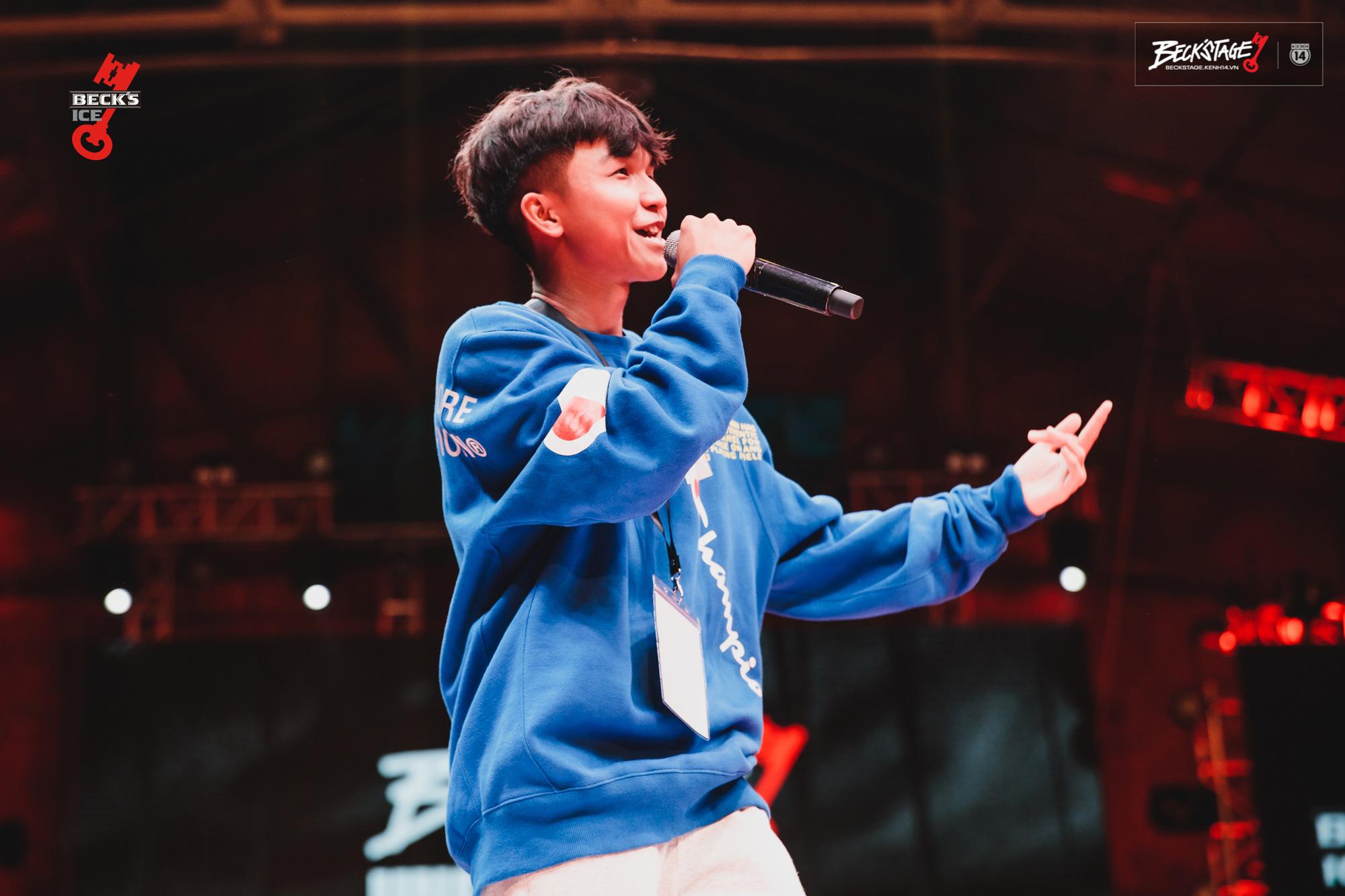 Ngôi vô địch BeckStage Battle Rap đã có chủ: Sóc Nâu và Phúc Du giành lấy ngôi vương đầy thuyết phục, một tương lai đầy hy vọng của rap Việt! - Ảnh 4.